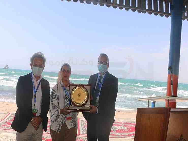 مناورة بحرية في حقل بترول بجنوب سيناء3 - وكالة سيناء نيوز