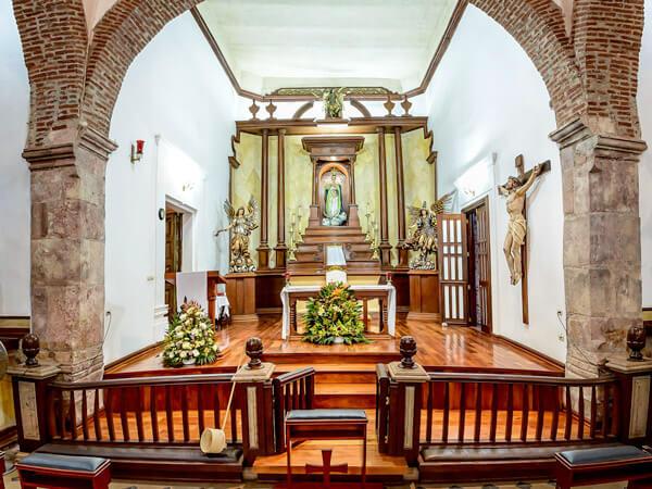 Altar principal de la Parroquia de la Inmaculada Concepción en Mocorito