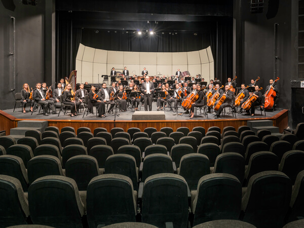 Sinaloa Symphonic Orchestra of the Arts (OSSLA). Photography: Miguel Angel Victoria