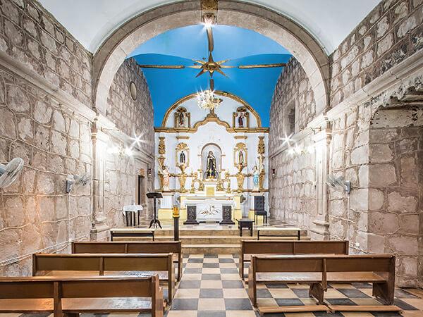 Altar Capilla de Nuestra Señora de Las Angustias