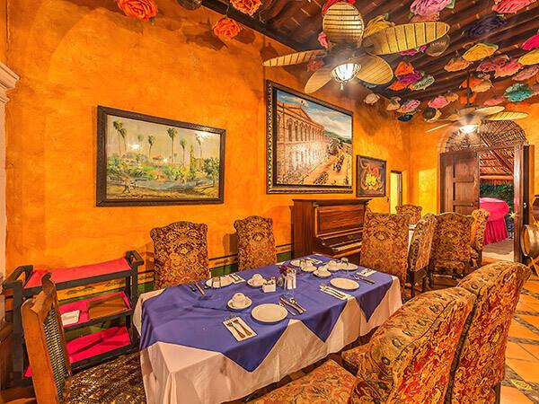 Restaurante del Hotel Posada del Hidalgo