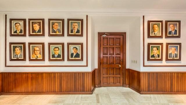 Galería de alcaldes en el Ayuntamiento de Culiacán