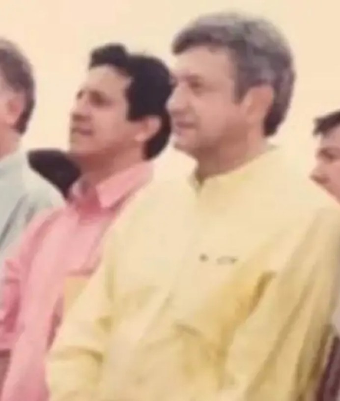 Gerardo Rosete y Lopez obrador