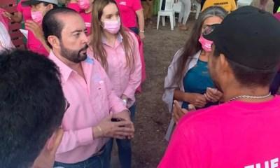 Samuel Lizarraga, Santa Elena, Primero los Pobres