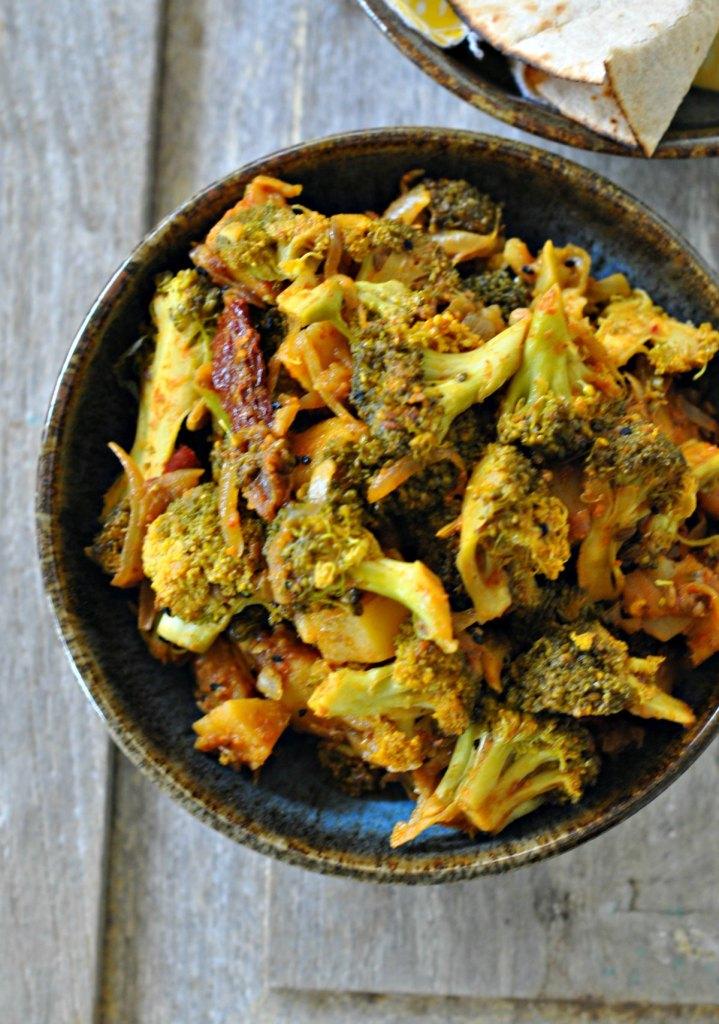 Achari Broccoli Recipe