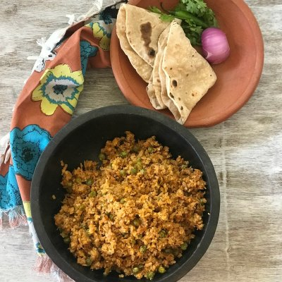 Kheema Gobhi – Winter goodness of Minced Cauliflower and peas