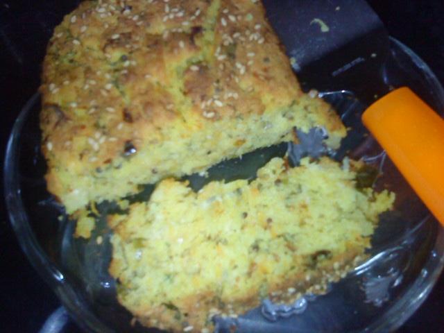 savory semolina cake