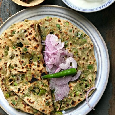 Stuffed Peas Paranthas – The best winter treat