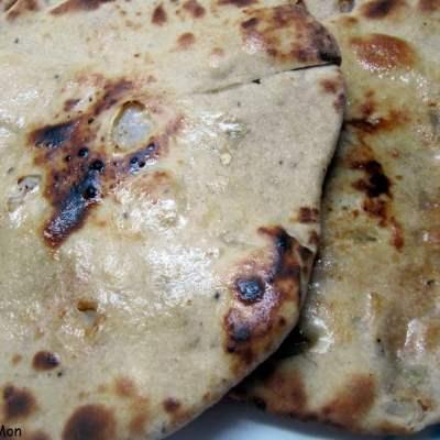 Paneer Kulcha with Burnt Garlic & Mint Chutney BM#4 Day 2