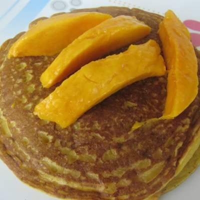 Mango Pancakes – Yumminess Redefined | BM6 Post 4