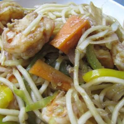 Prawn Hakka Noodles
