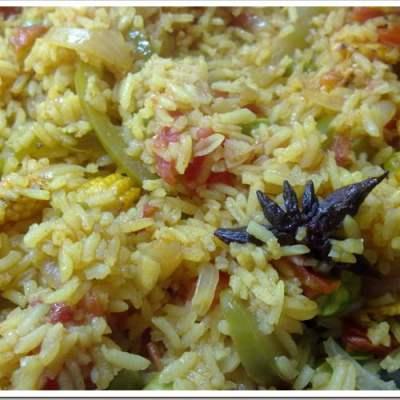 Mixed Vegetable Paella