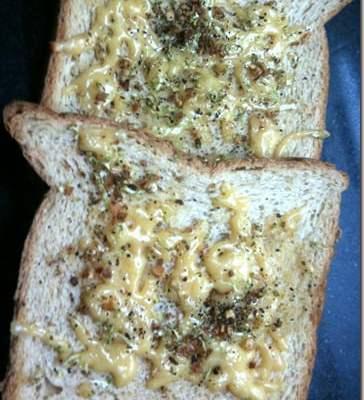 Quick Cooking : Zesty Garlic Toast