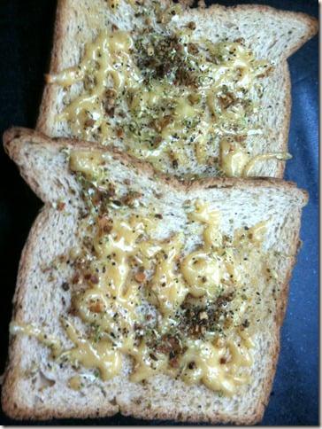 zesty garlic toast