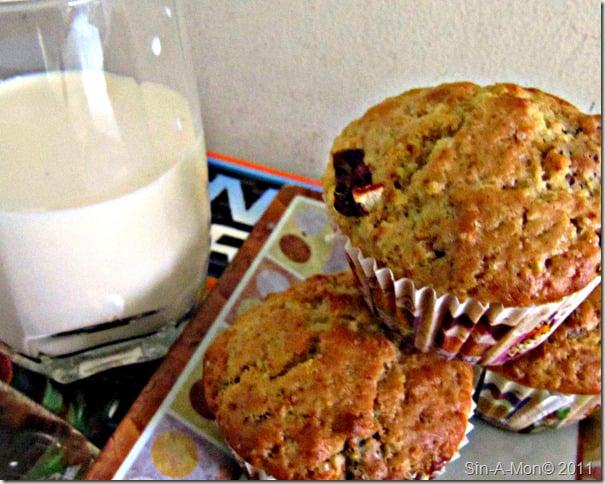 Orange Date Muffins