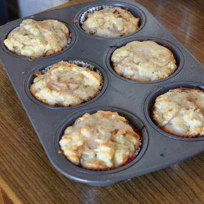 Muffin Monday – Crusty Cheese and Onion muffins