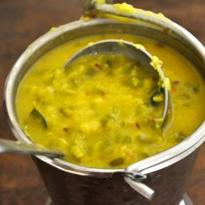 Capsicum Ginger Dal – Comfort Food Series