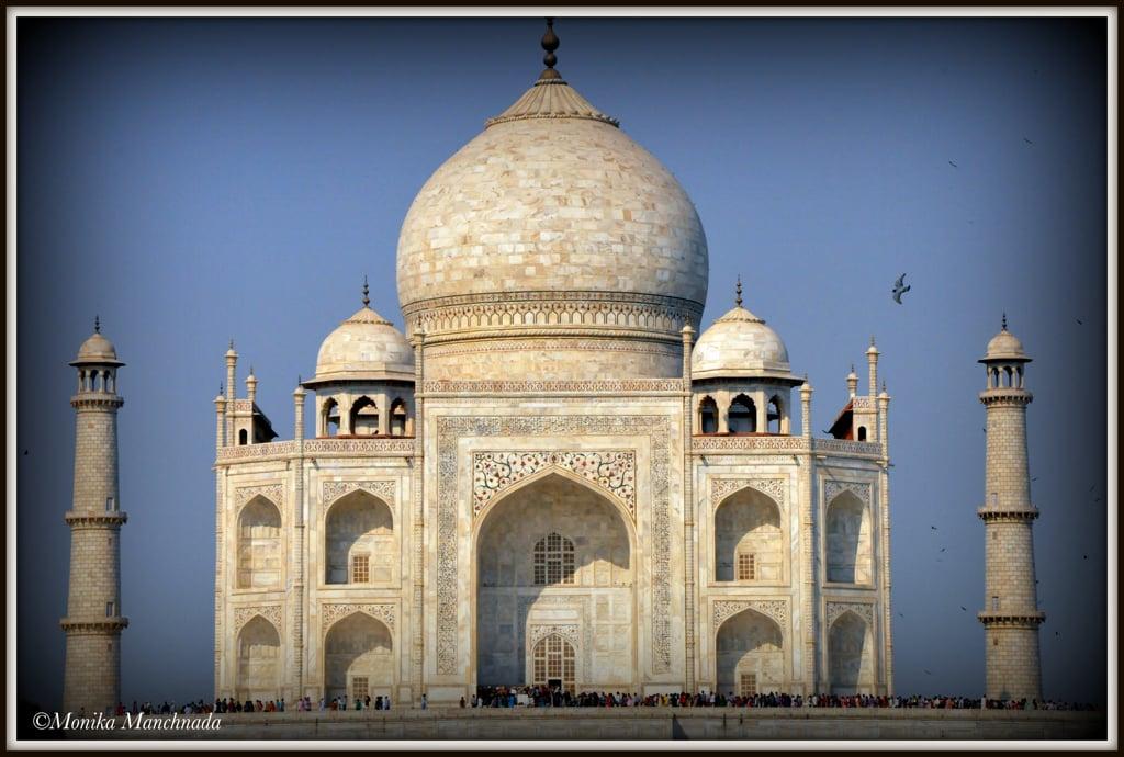The Taj at Agra