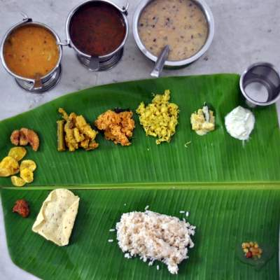 Onam Sadya : A back breaking task