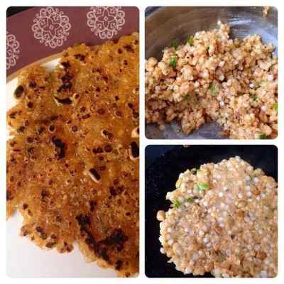 Quick Cooking : Sabudana Thalipeeth