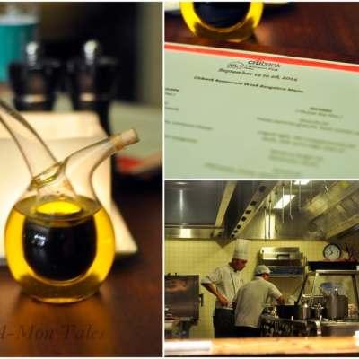 Citibank Restaurant Week 2014 : Dining at Alto Vino, Marriott Whitefield