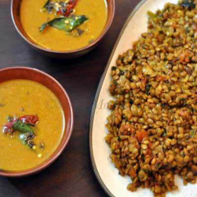 Hurali Kalu Saaru (Horse Gram Curry)