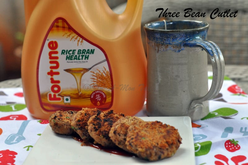 three bean cutlet