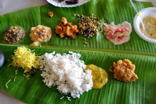 Authentic South Indian Food