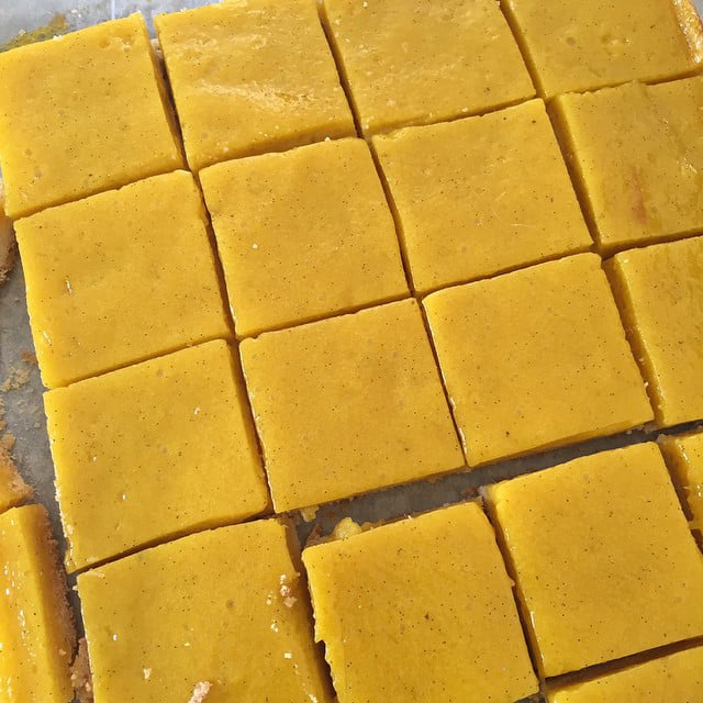 Mango Lemon Bars Recipe