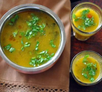 Mango Rasam Recipe | Vegan Summer Indian Soup
