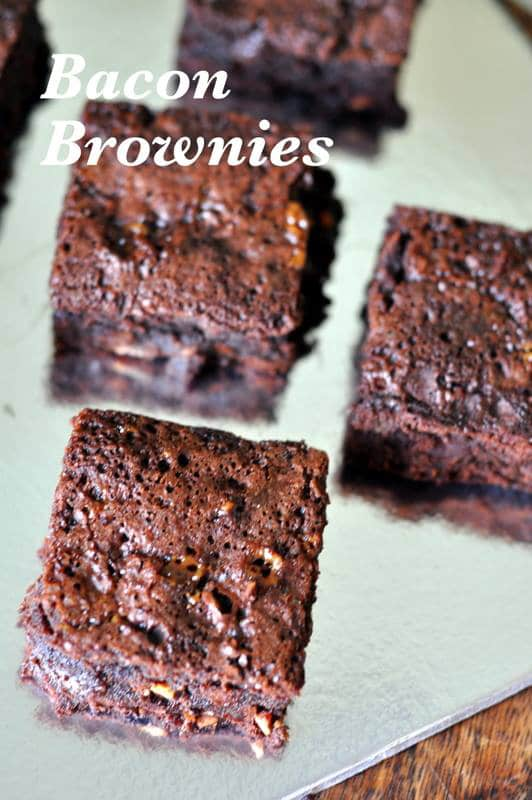 Bacon Brownies
