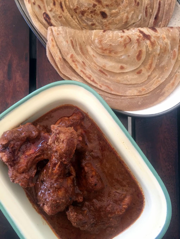 chicken curry Kolhapuri style