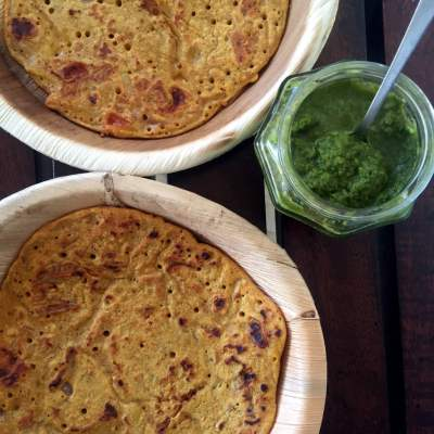Besan Chila and the tale of Tomato Omelette