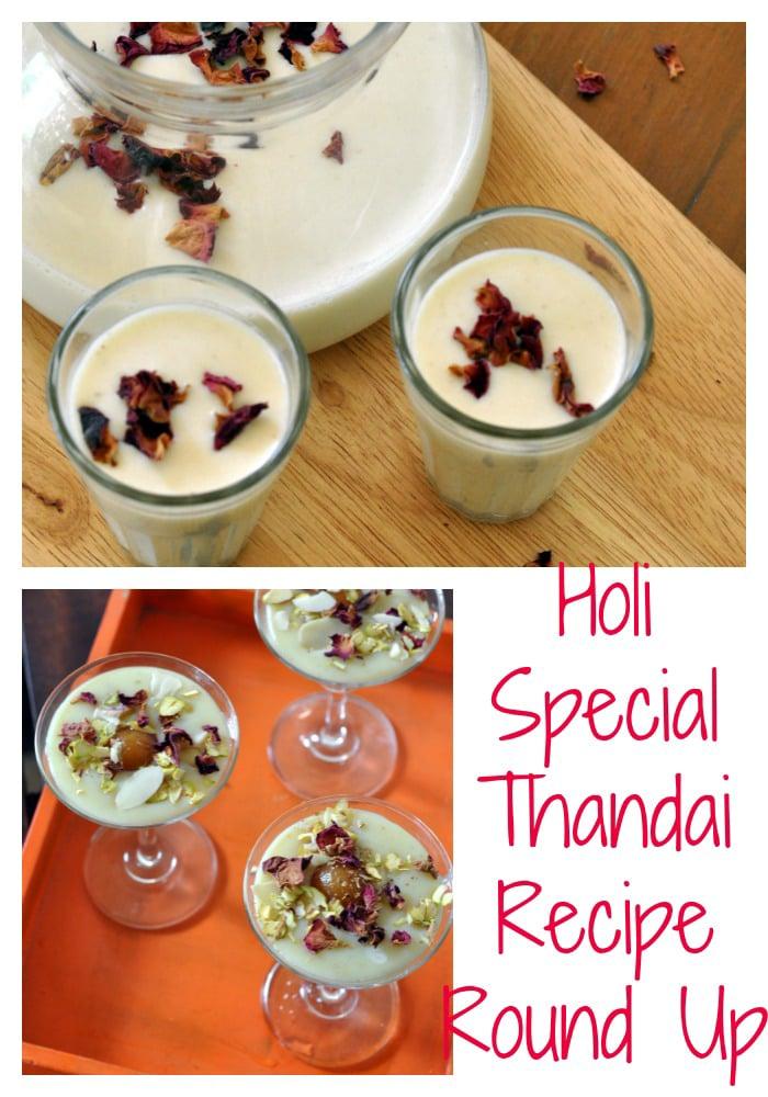 Thandai recipes