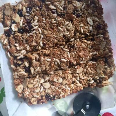 Granola Bars (Millet & Oats Granola Bars)