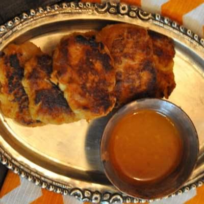 Shalgam ki Tikki (Spiced Turnip Cakes)