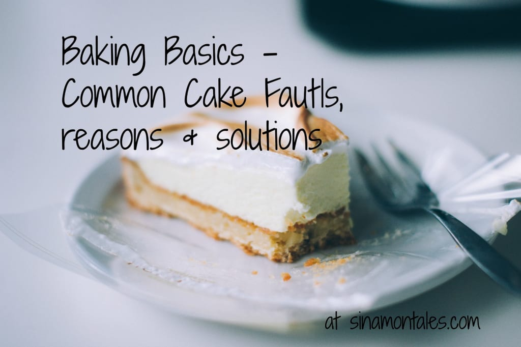 Common Cake Faults