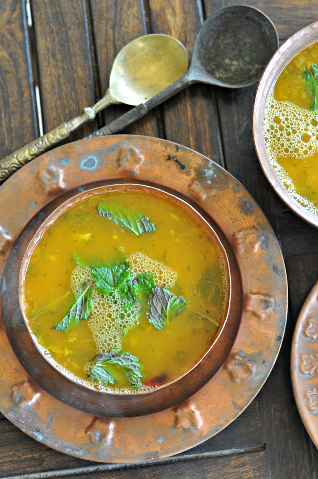 Raw Mango Mint Rasam