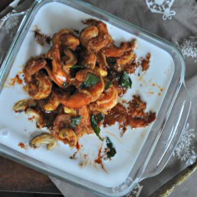 Prawns Delight – Prawn Curry in Coconut Milk