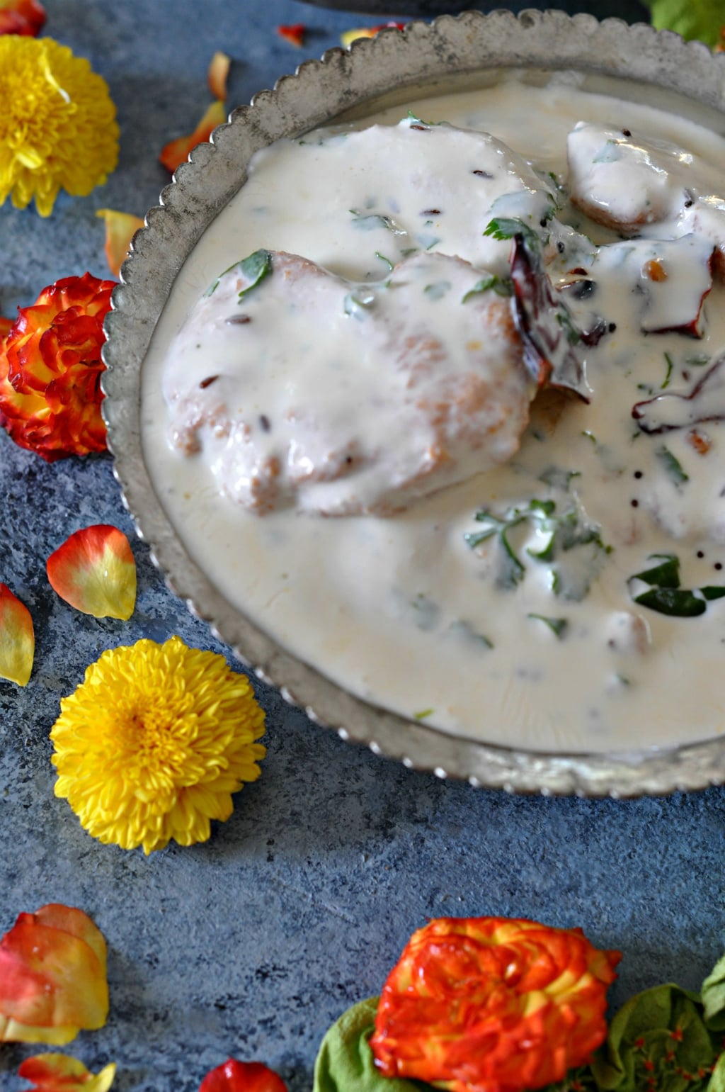 My mother in laws dahi vada recipe sinamontales actually do you associate certain recipes and dishes forumfinder Image collections