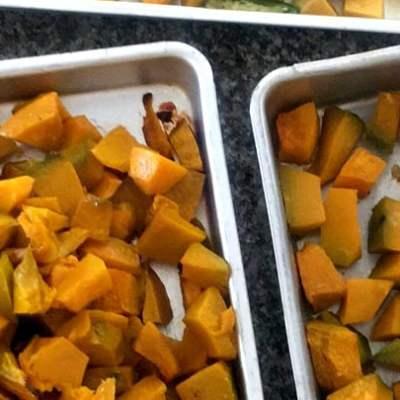Roasted Pumpkin   How to Roast Pumpkin in Oven