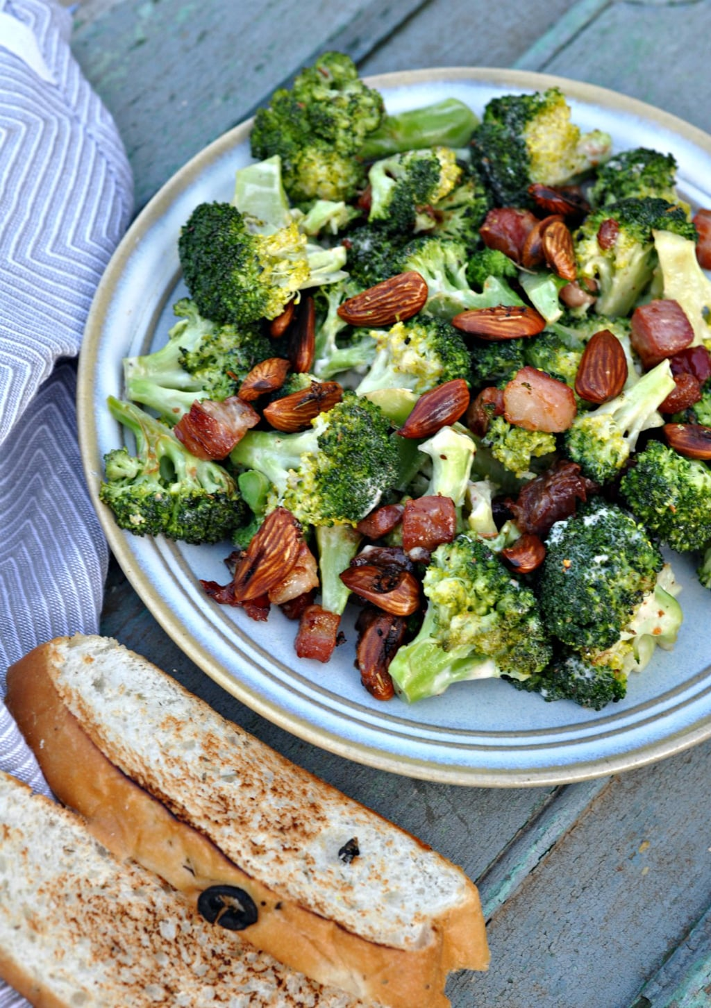 how to make crispy broccoli