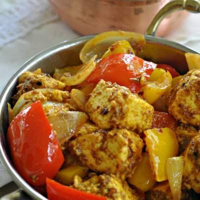 Kadhai Paneer | Cottage Cheese & Bell Pepper Stir Fry