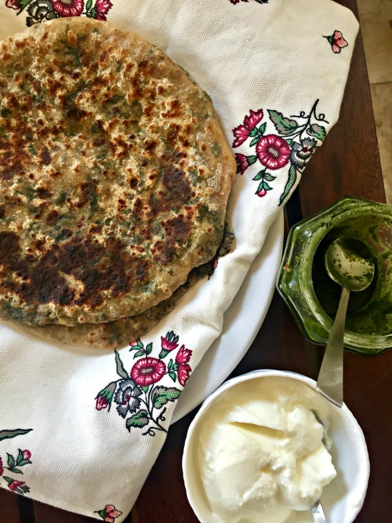 Stuffed Bathua Parantha