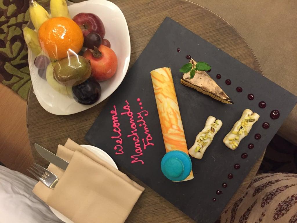 anniversary at Double Tree Hilton