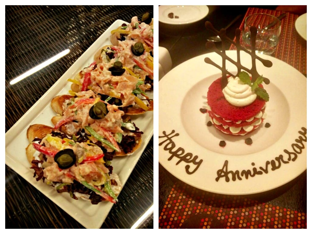 anniversary at the hilton