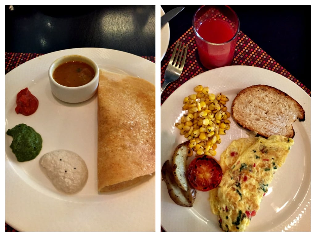 breakfast at double tree suites