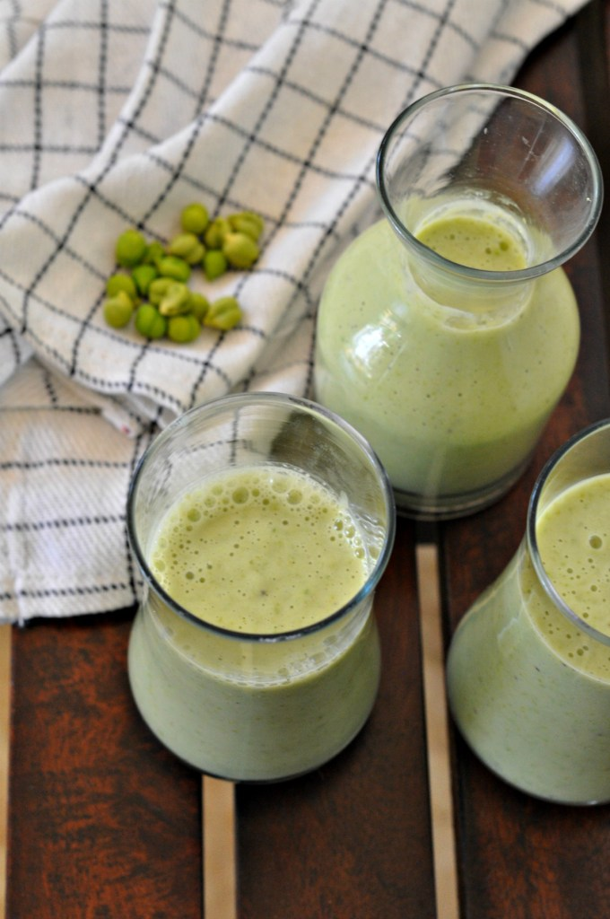 Green Gram Winter Smoothie