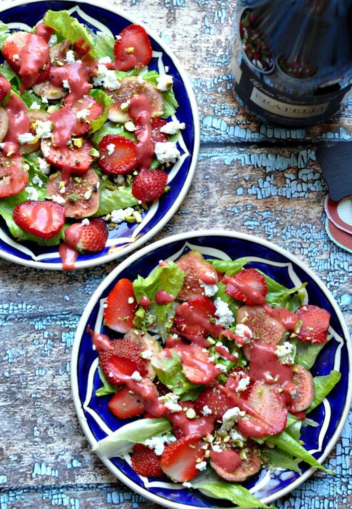 Strawberry & Feta Salad