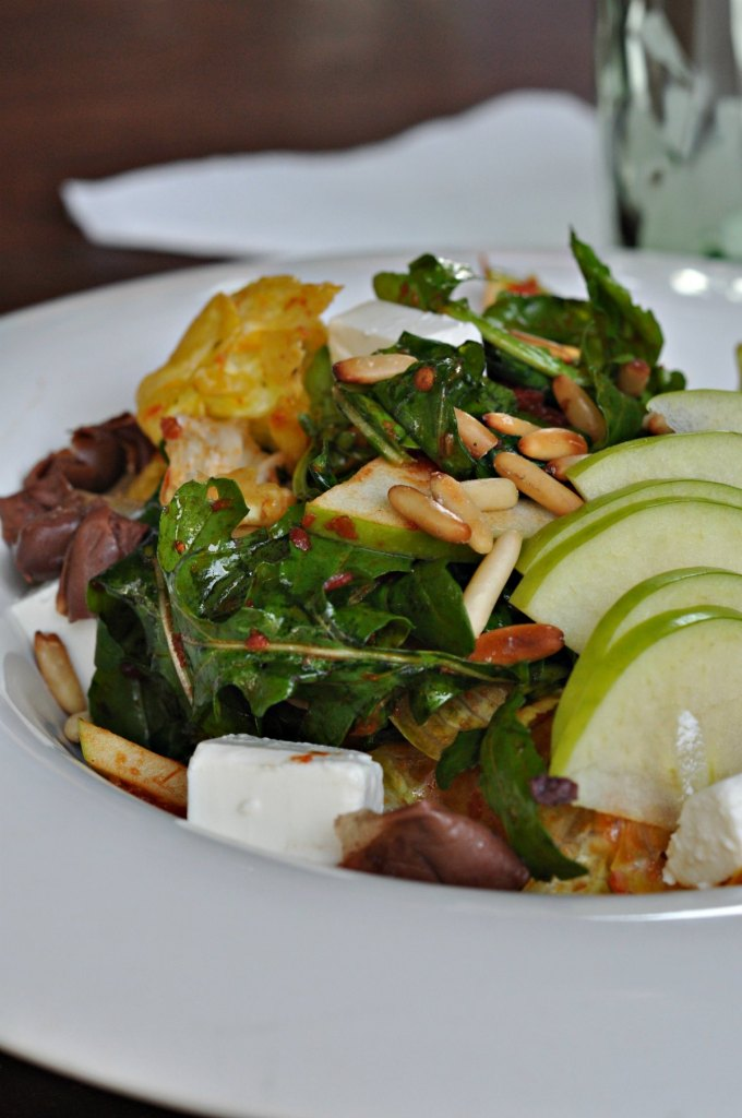 Apple Sundried Tomato Salad